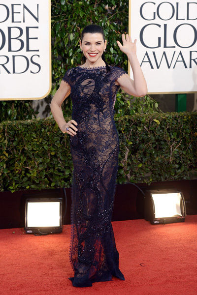 Julianna Margulies in Emilio Pucci