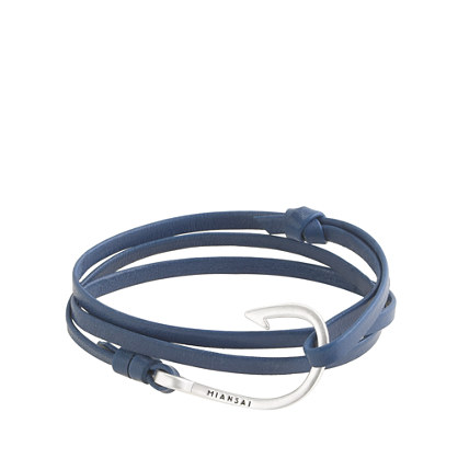 The middy: Miansai leather bracelet (found here)
