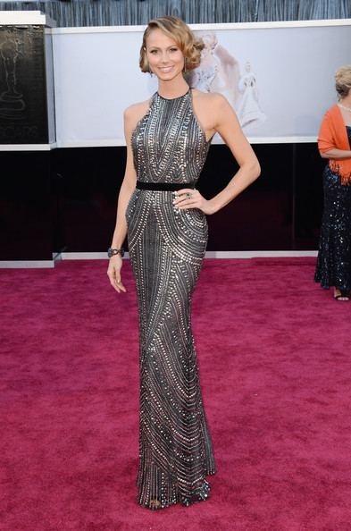 Stacy Keibler in Naeem Khan