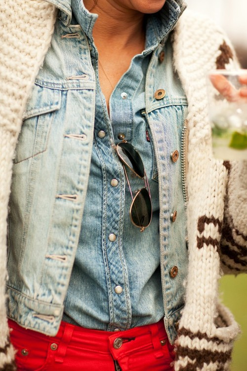 Denim on denim, you know how much I love this classic trend and a jean jacket is a must for spring.