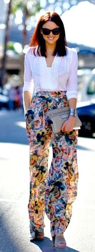 Such a fabulous, light, and perfect for any occasion print.....obsessed with this ensemble!