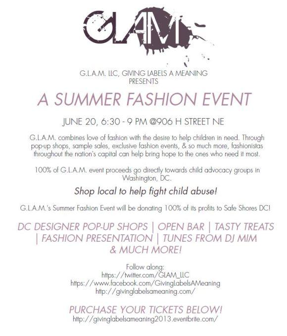 GLAM 2013 press release